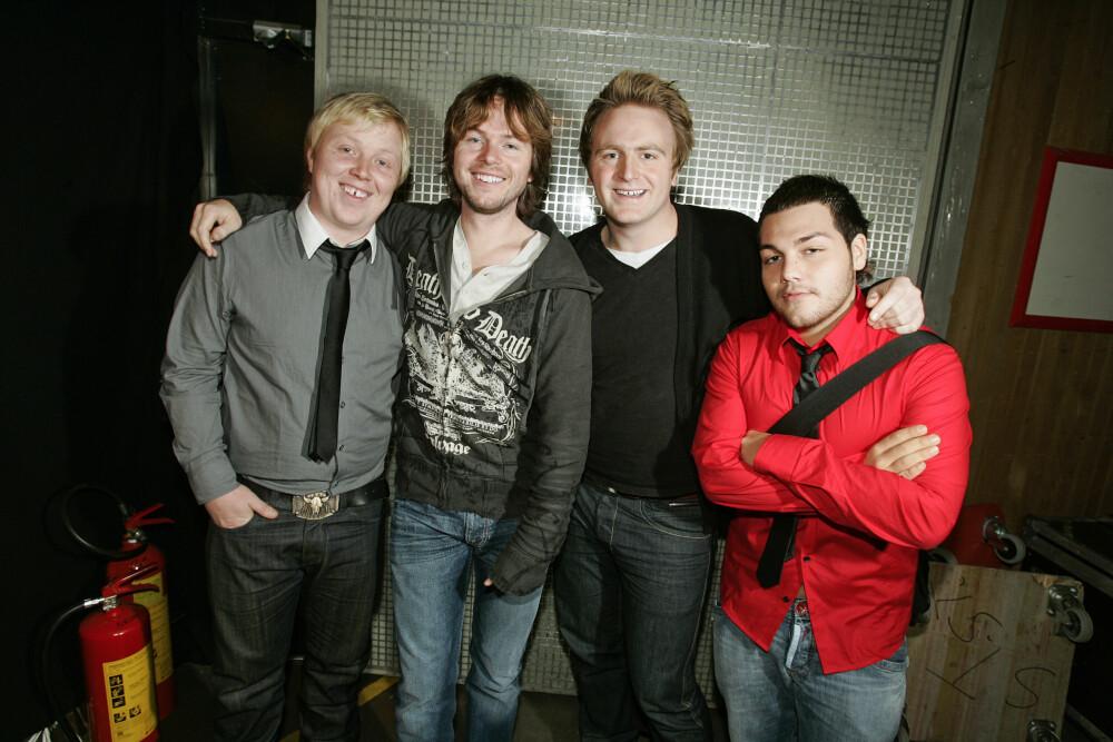 DEN GANG DA: De nye gitarkameratene tok hele Norge med storm. Her under TV-aksjonen i 2006.