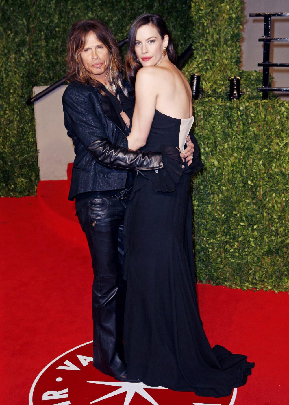 FAR OG DATTER: Steven Tyler (71) og datteren Liv Tyler (41).