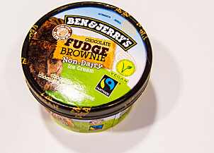 Ben & Jerry's Chocolate Fudge Brownie Non-Dairy Vegan.