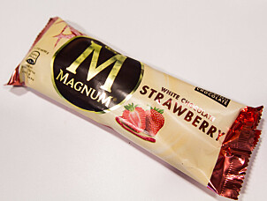 Magnum White Chocolate Strawberry.