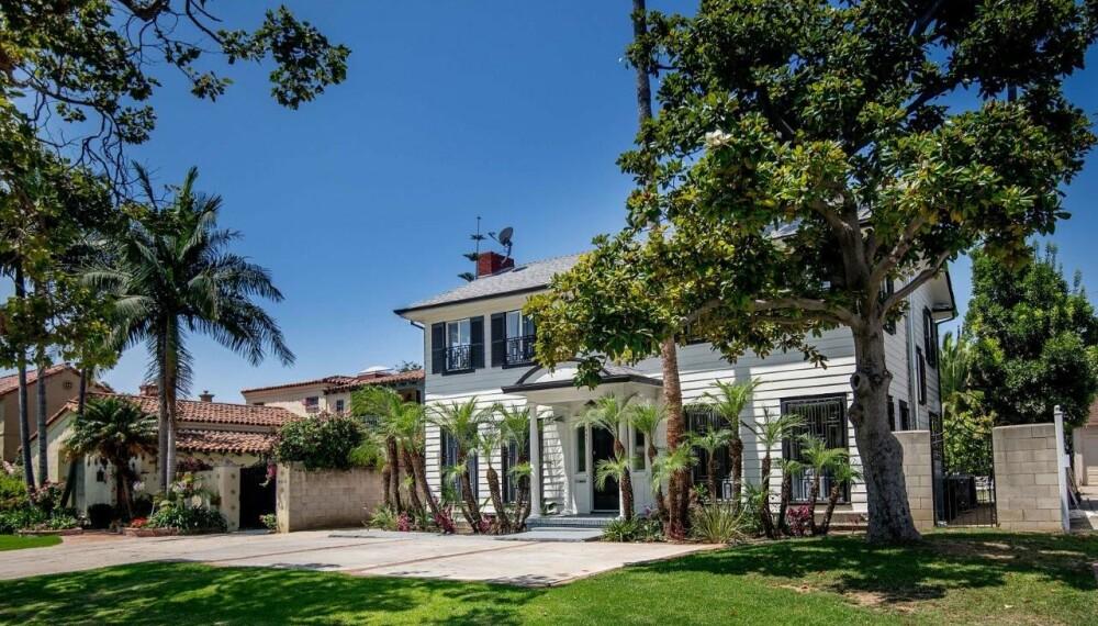 FLOTT: Huset fra 1924 er i kolonistil.