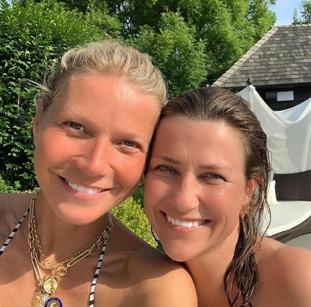 SATTE PRIS PÅ MØTET: Märtha Louise skriver på Instagram at det var inspirerende å møte skuespiller Gwyneth Paltrow.