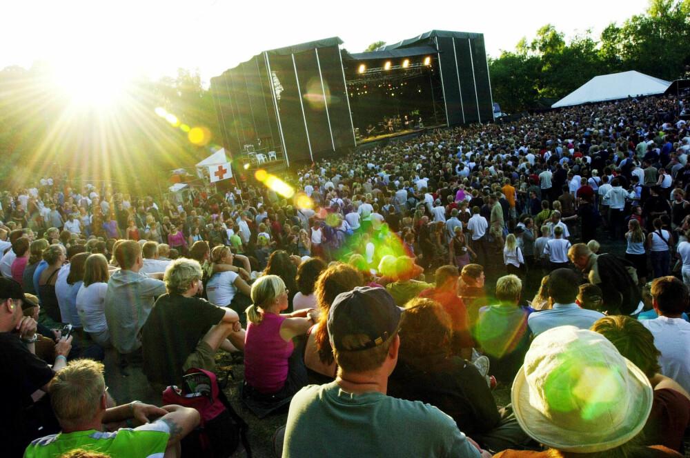 MØTEPLASSEN: Kronprinsparet møttes under Quartfestivalen i Mette-Marits hjemby Kristiansand. Den svært populære musikkfestivalen, som hadde en rekke store stjerner fra inn- og utland på scenen gjennom over 15 år, gikk konkurs i 2008.