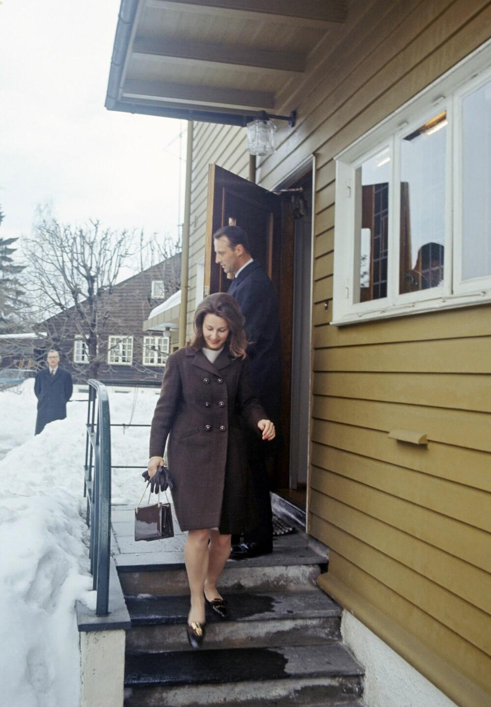 SKJULESTED: Hjemme hos Sonjas mor i Tuengen Allé på Vinderen møttes det kommende kongeparet i smug i flere år.