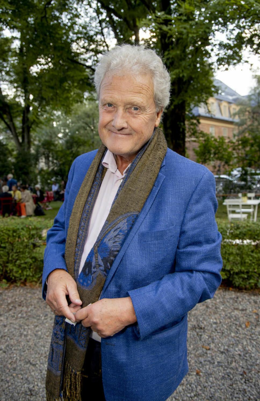 Tidligere programleder, nå foredragsholder og forfatter, Dan Børge Akerø.