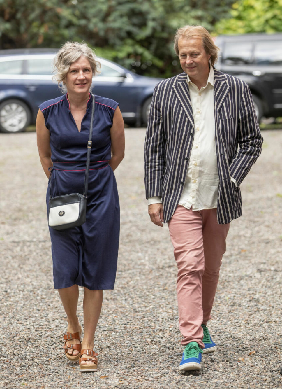 Andrine Sæther og Lars Lillo Stenberg.