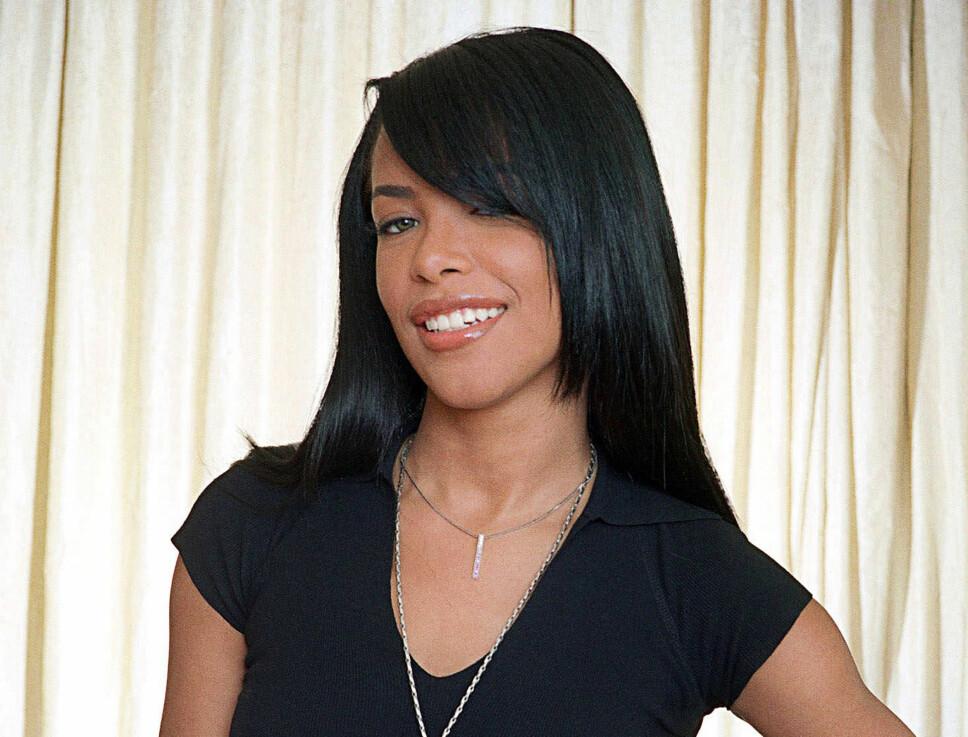 DØDE I ULYKKE: Aaliyah var ferdig med en musikkvideoinnspilling da flyet hun satt i styrtet og hun mistet livet bare 22 år gammel.