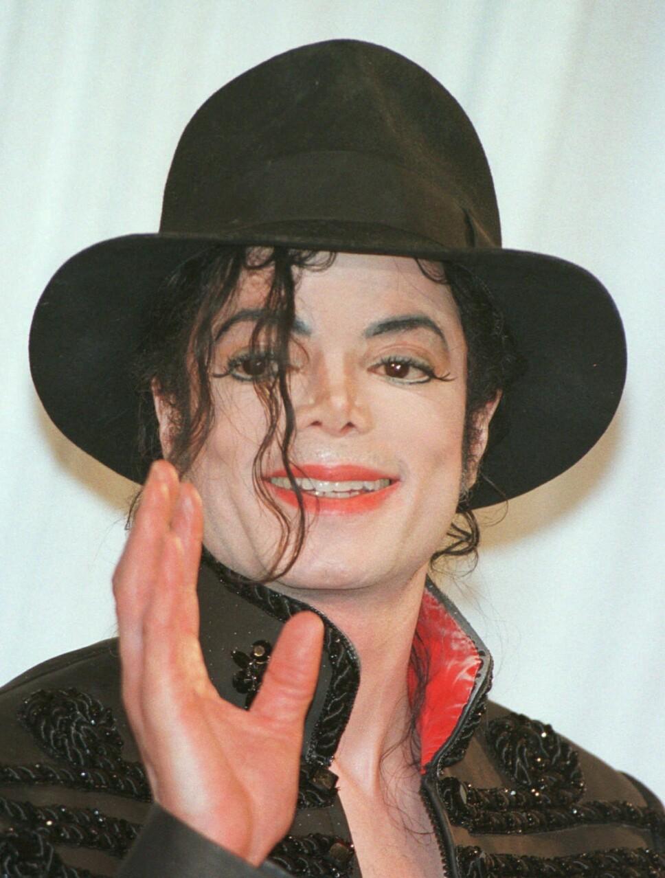 GJORDE ALDRI COMEBACK: Michael Jackson var i full gang med comebacket sitt da han døde brått.