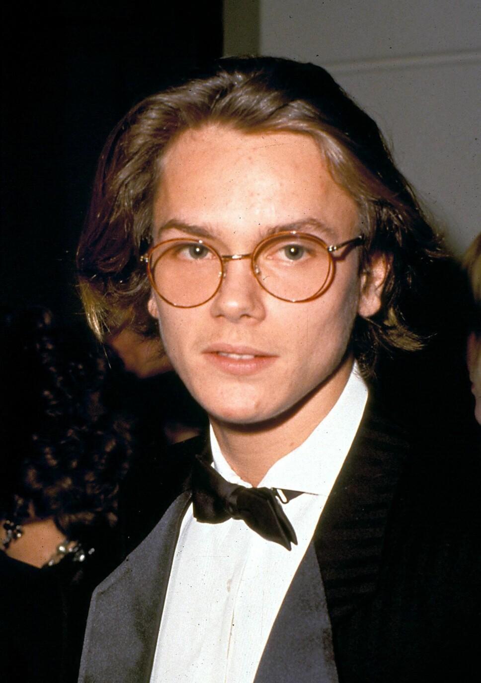 SPÅDD EN LYSENDE KARRIERE: River Phoenix døde bare 23 år gammel, av en overdose. Den unge skuespilleren var spådd en stor karriere innenfor filmindustrien.