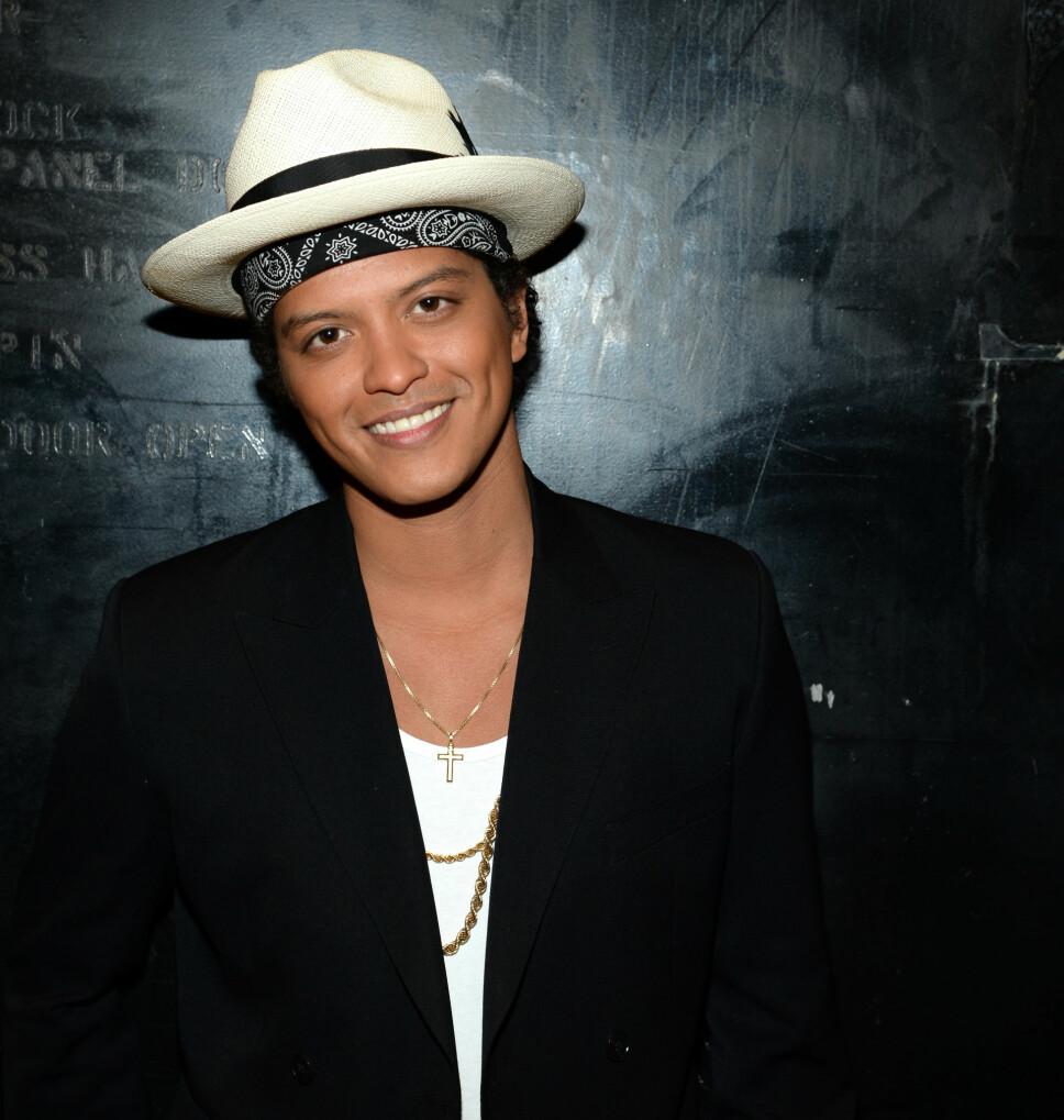 BRUNO MARS: Artistnavnet til Bruno Mars er satt sammen av et gammelt kallenavn og et nytt navn han tok i bruk selv.