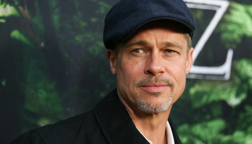 HETER FAKTISK WILLIAM: Brad Pitt bruker vanligvis ikke fornavnet sitt, William, i alle fall ikke i profesjonelle sammenhenger.