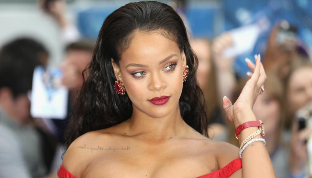 KJENT FOR MELLOMNAVNET: Rihanna bruker mellomnavnet sitt i artistsammenheng, men venner og familie kaller henne fortsatt Robyn.