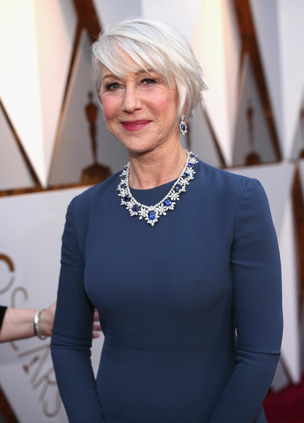 FORENKLET NAVNET: Helen Mirren forenklet sitt fødenavn Ilyena Lydia til Helen da hun skulle satse på skuespillerkarrieren.