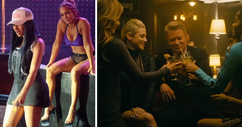 «HUSTLERS»: Cardi B, Jennifer Lopez. Julia Stiles, Lili Reinhart, Lizzo og flere andre store stjerner medvirker i den nye filmen «Hustlers».
