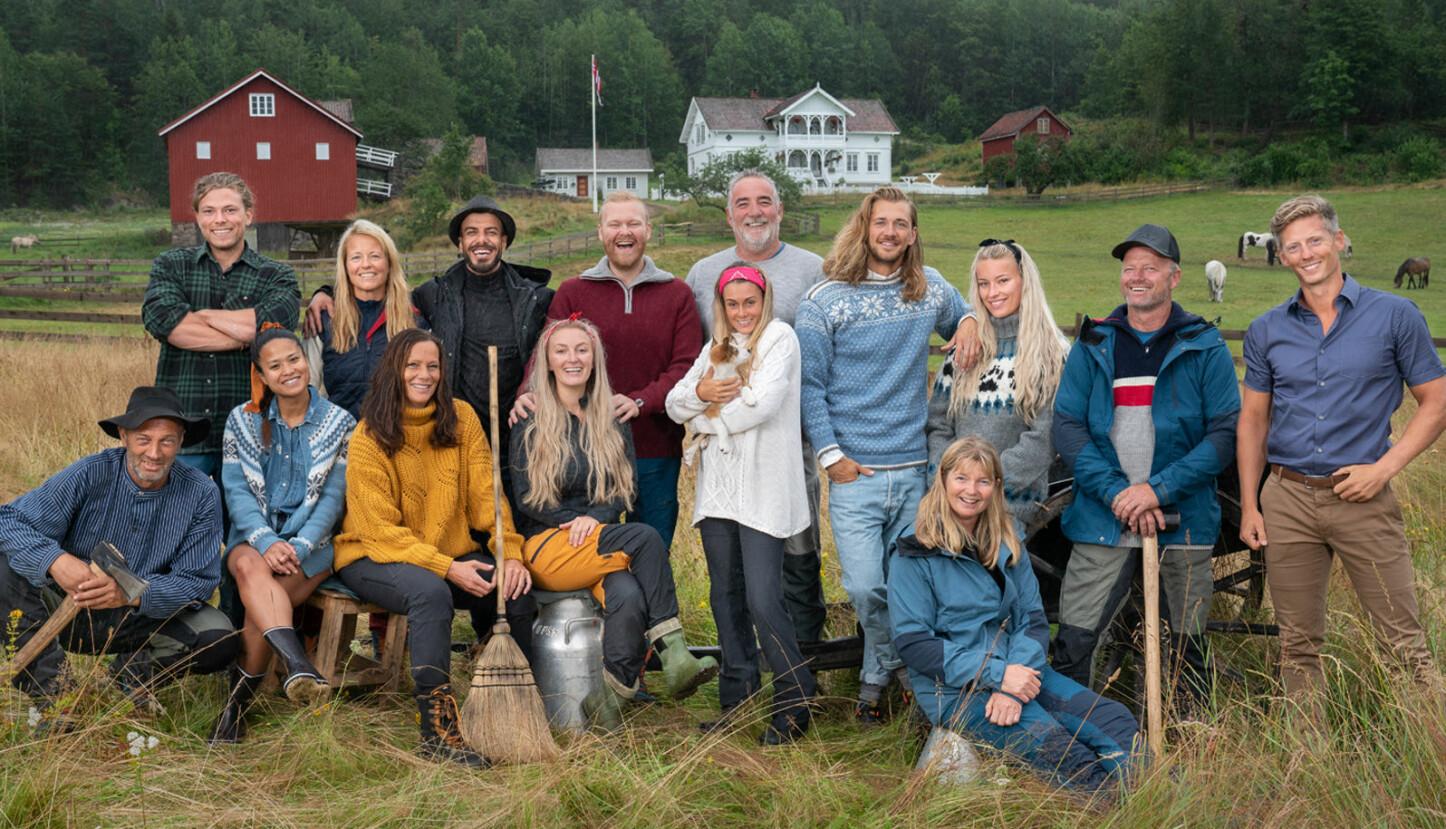 HUNDRE ÅR TILBAKE I TID: Denne gjengen blir snart å se på TV i den nyeste sesongen av Farmen.