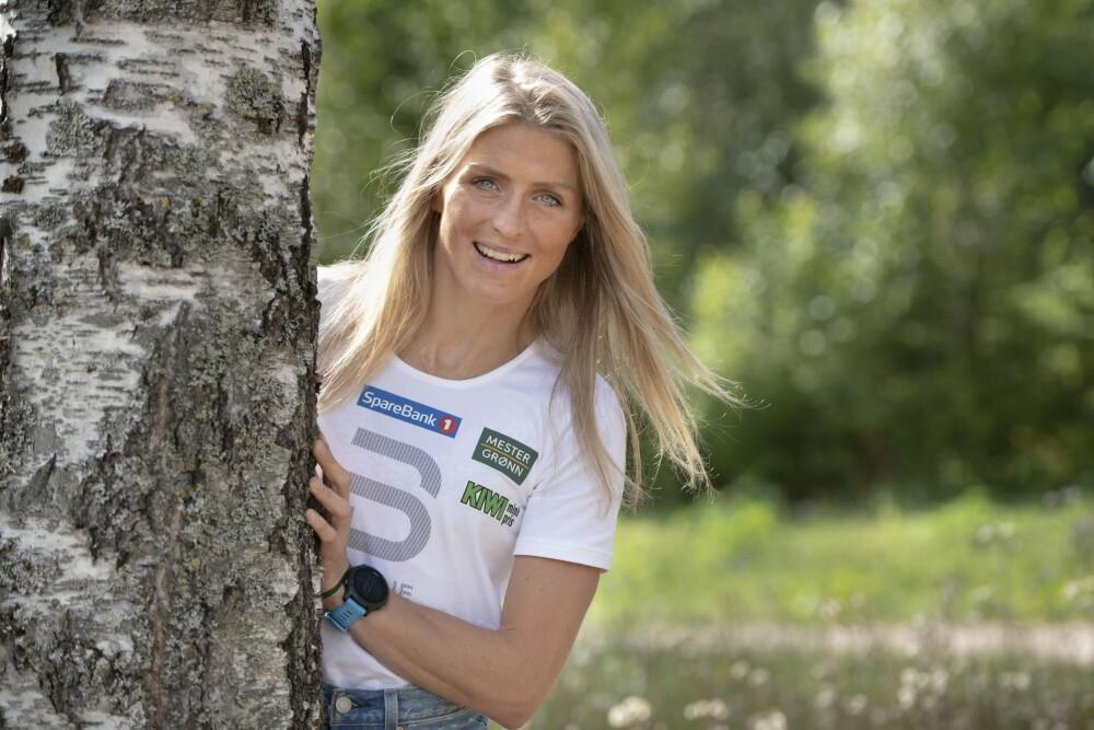 KLAR FOR VINTER: Therese Johaug har hatt en herlig ferie sammen med kjæresten i Lofoten denne sommeren.