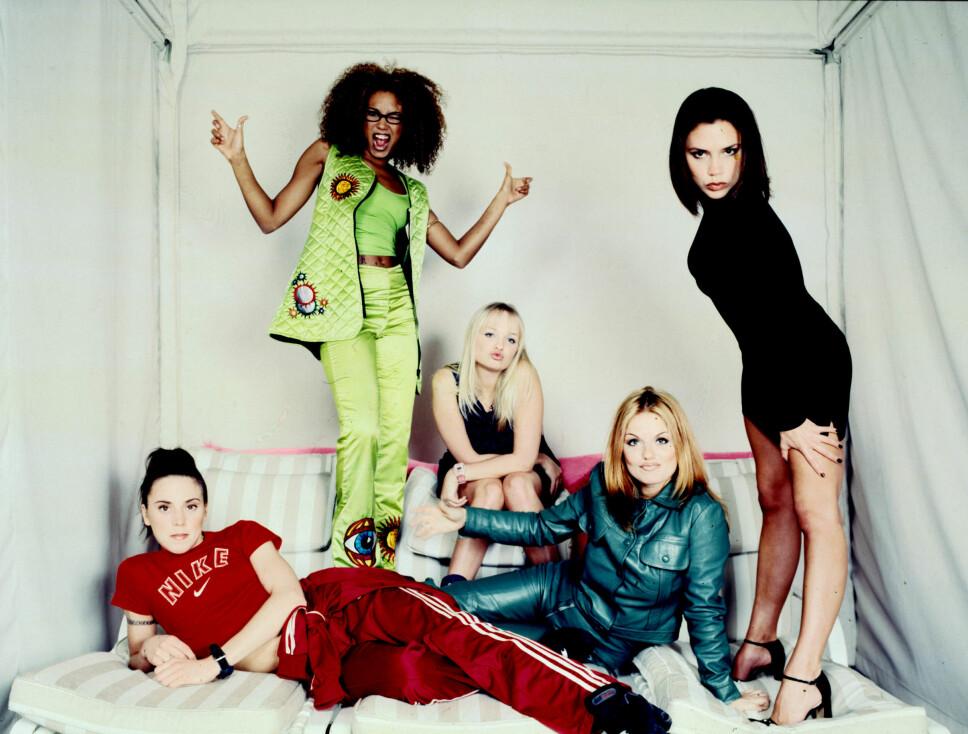 AKTUELLE: Spice Girls er aktuelle som aldri før, etter at de (minus Victoria Beckham) i år la ut på ny turné. Gruppa slo gjennom på 90-tallet og har hatt mye å si for moten, både den gang, men også i dag, tror moteekspert.