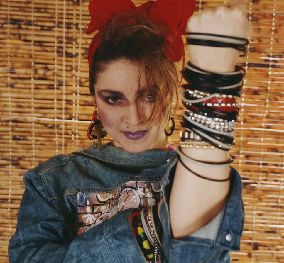 80-TALLS CHIC: Madonna i New York i 1984.