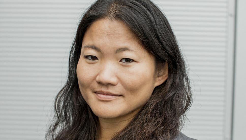 BAMA: Pia Gulbrandsen, kommunikasjonsdirektør i Bama.