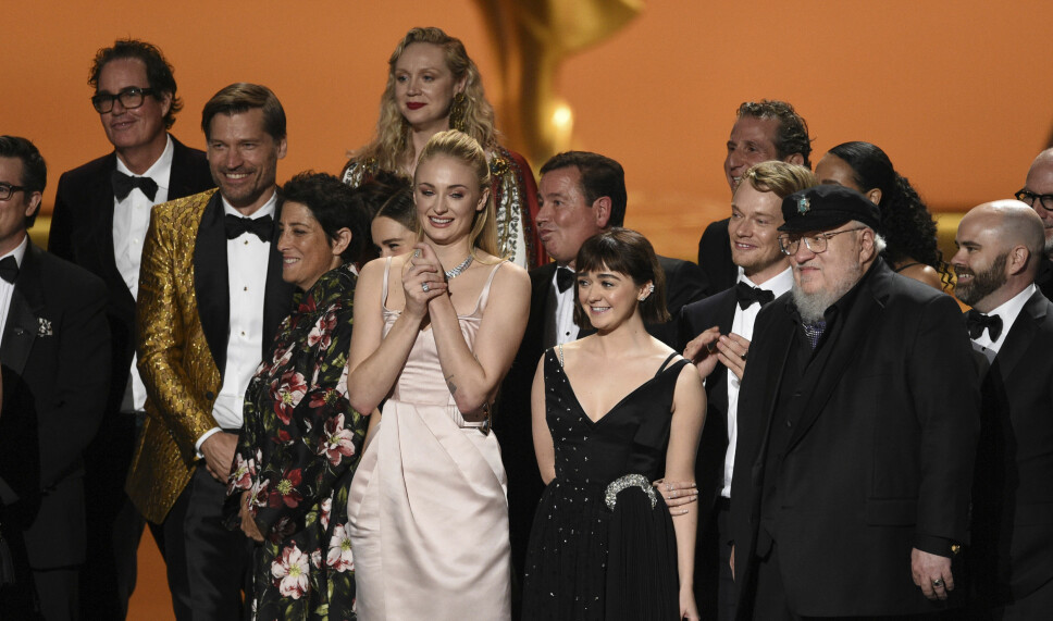 BESTE DRAMASERIER: «Game of Thrones» fikk pris for beste dramaserie under den årlige Emmy-utdelingen i Los Angeles natt til søndag.