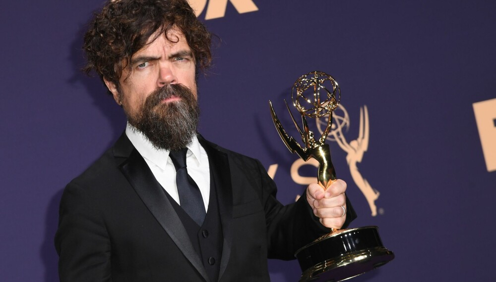 Peter Dinklage vant Emmy for beste mannlige birolle i «Game of Thrones».