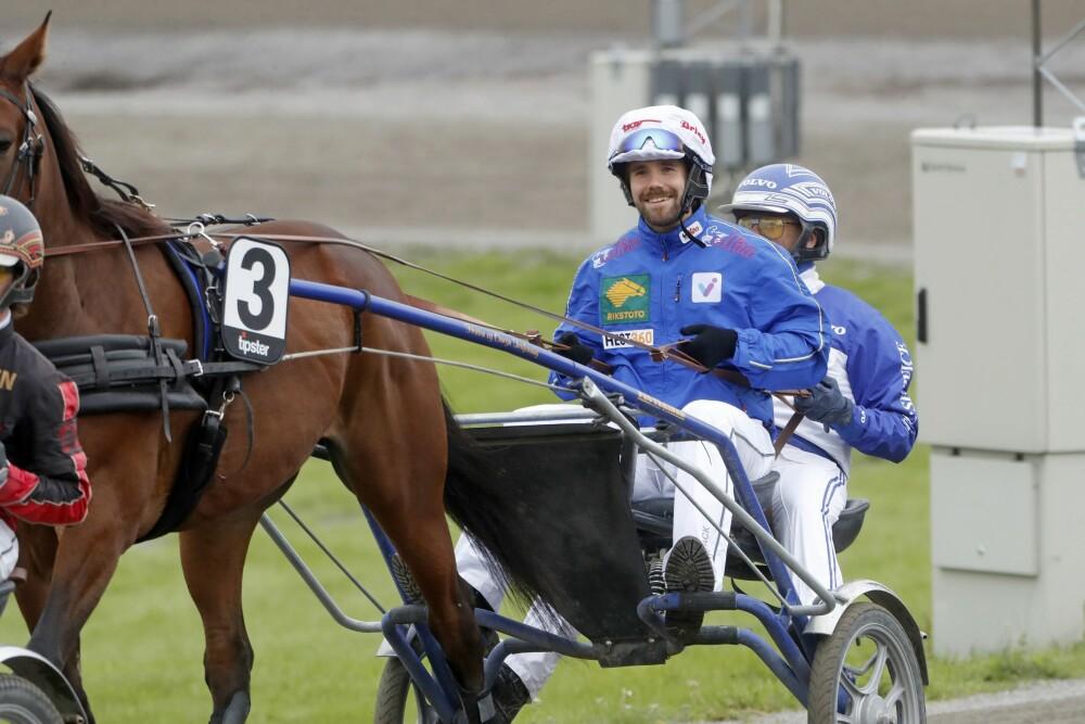 FULL FART: Blipp hadde startnummer tre med hesten Chill Fighter. De kom på fjerdeplass, like bak prinsesse Märtha Louise.