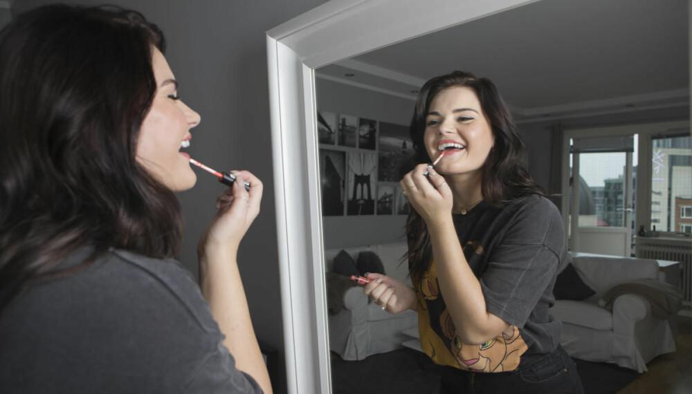 SANGFUGLEN: – Å stå foran speilet og synge har jeg gjort siden jeg lærte å gå.