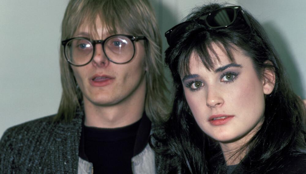 DEN GANG DA: Freddy Moore og Demi Moore var gift i fem år.