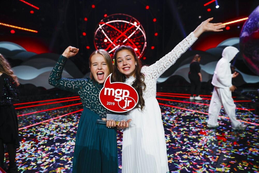 VANT: Anna og Emma gikk helt til topps i årets MGP Jr.