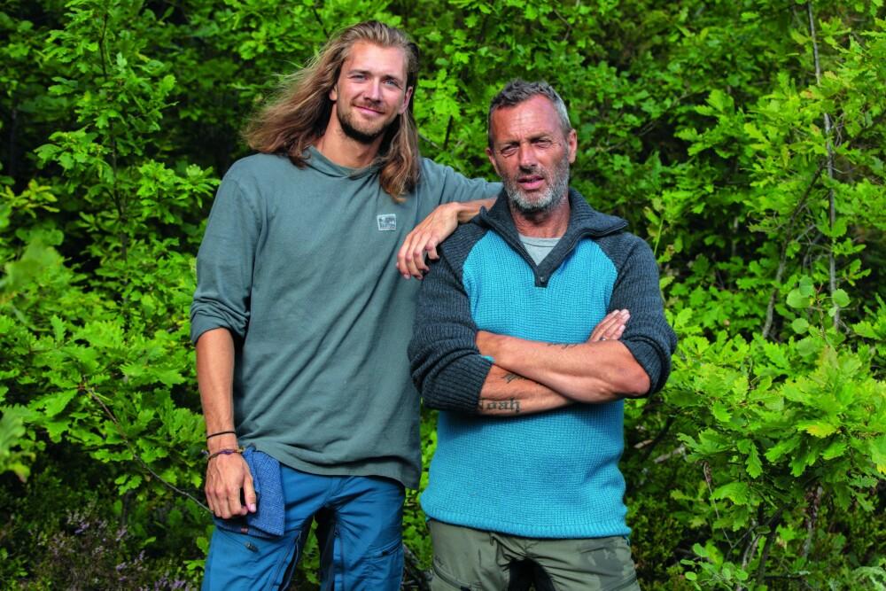 I TVEKAMP: Leif ble førstekjempe og tapte mot andrekjempe Kristian Tindeland i søndagens program.