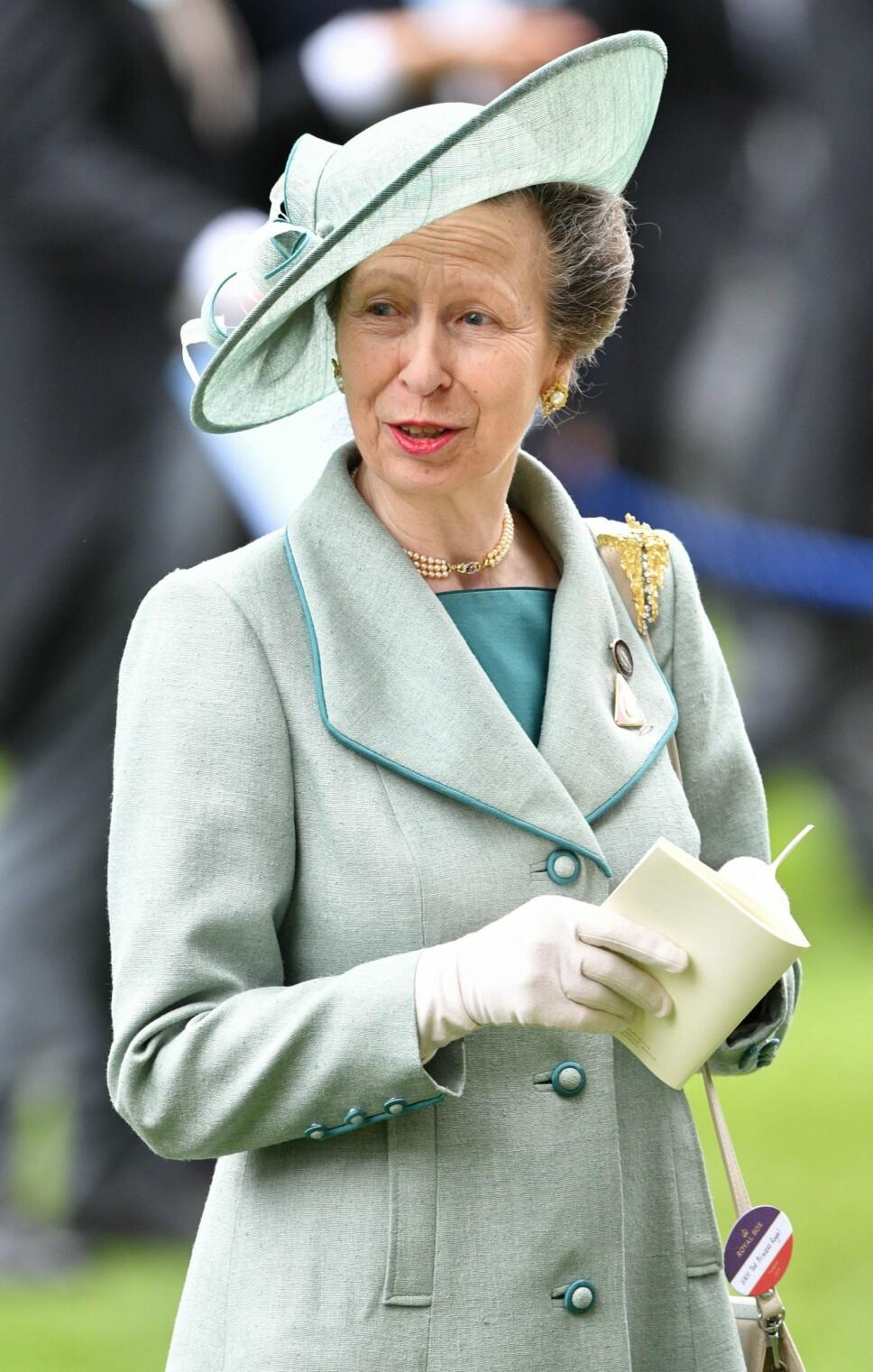 ARBEIDSOM: Prinsesse Anne jobber mest i det britiske kongehuset, uten å få noe særlig omtale eller ros.