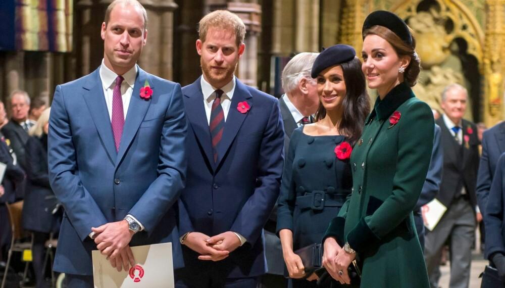 OMDISKUTERT: Britene ønsker å se mer til hertuginne Kate og prins William ute på jobb. Samtidig er meningene mange om hertuginne Meghan og prins Harry. Flere aviser mener de bør holde seg unna rampelyset hvis de mistrives så mye som de gir uttrykk for.