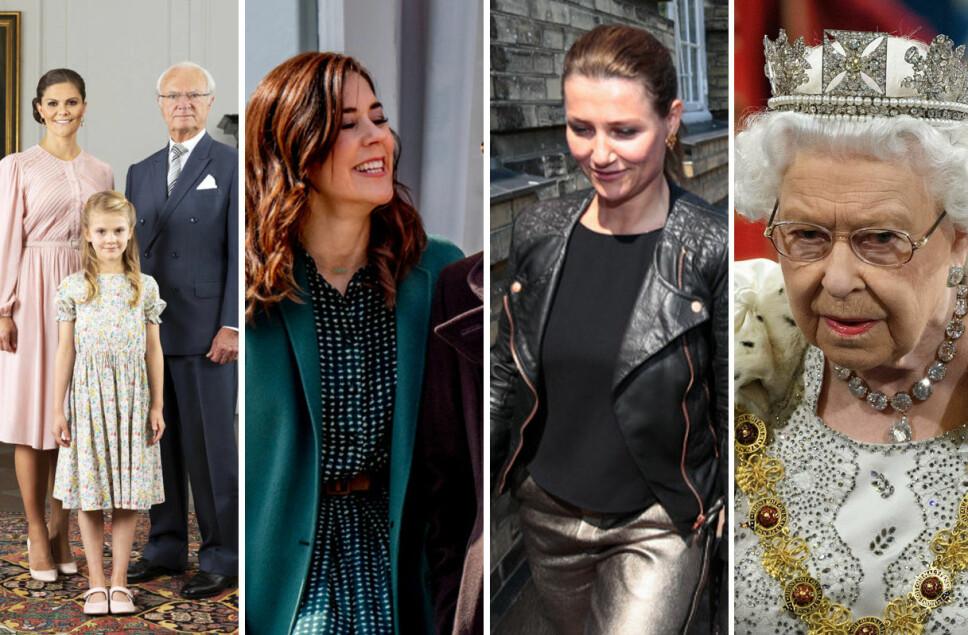 MYE SOM SKJER: Det skjer mange forandringer i Europas kongehus om dagen. Vi ser på hva som har skjedd og hvorfor.