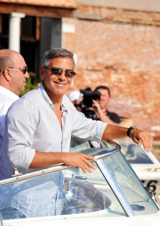 PASSET PÅ STORE STJERNER: I jobben som livvakt har Jan Erik møtt Hollywood-stjerner som George Clooney og Nicole Kidman og tidligere verdensledere som Jimmy Carter og Kofi Annan.