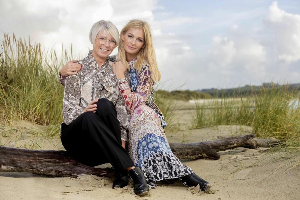 MOR OG DATTER: – Mamma Astri og jeg kan prate om absolutt alt! sier Kathrine Sørland.