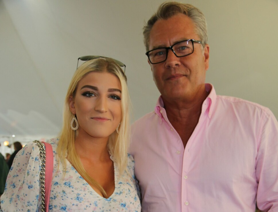 39 ÅRS ALDERSFORSKJELL: Alba Jancou og Christie Brinkleys eksmann Peter Cook er nyforlovet.