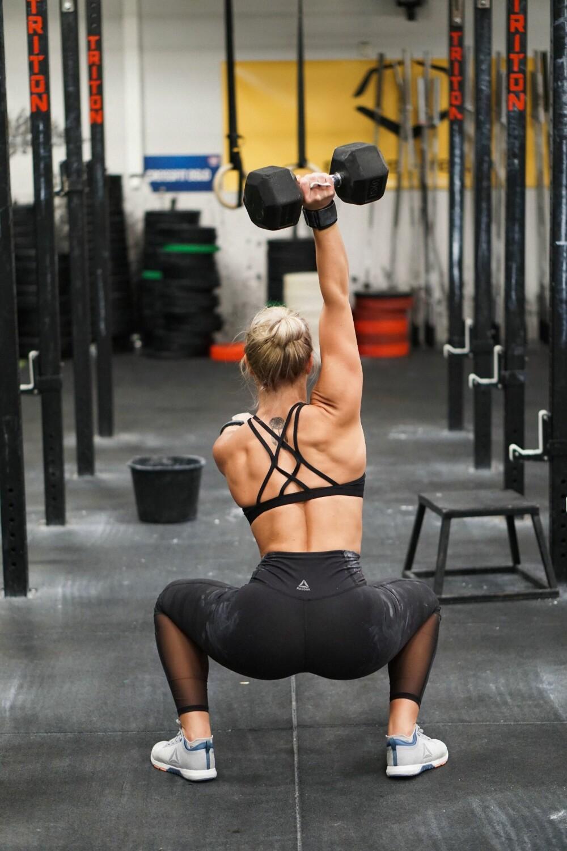 ELSKER CROSSFIT: Andrea har mildt sagt blitt bitt av CrossFit-basillen!
