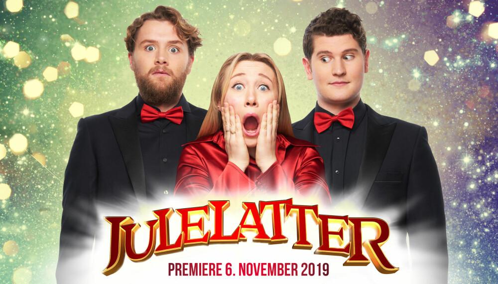 JULELATTER: Maria Stavang, Herman Lepperød og Henrik Farley spiller show fra 6. november.