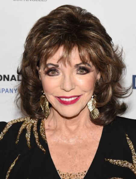 DAME JOAN: Joan Collins er utropt til «Dame Commander of the Order of the British Empire». Her er hun avbildet tidligere i 2019.