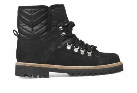 Klassiske svarte sko fra Ganni, kr 3499.