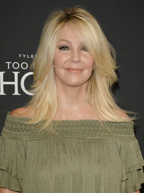 I 2016: Heather Locklear avbildet i forbindelse med premieren på «Too Close to Home».