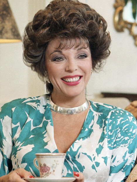 SOM ALEXIS: Joan Collins som Alexis i «Dynastiet».