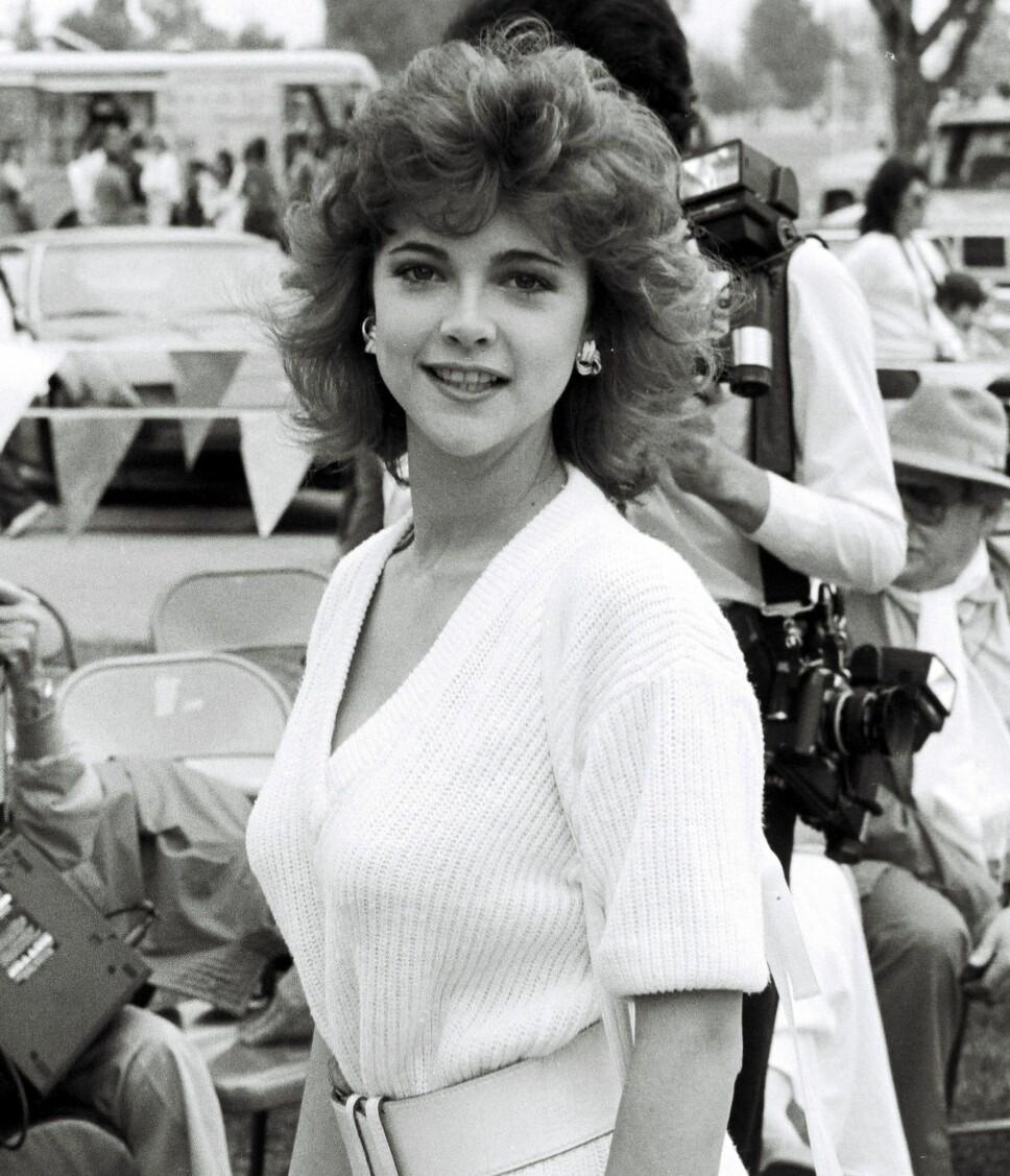 ERSTATTEREN: Emma Samms (på bildet) erstattet Pamela Sue Martin i «Dynastiet» i 1985.