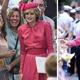 Se den første sniktitten på «prinsesse Diana» i suksesseriens fjerde sesong